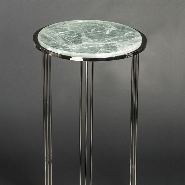 2607 Hyaline quartz sidetable