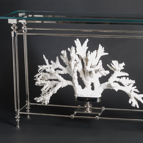 Branch coral consolle
